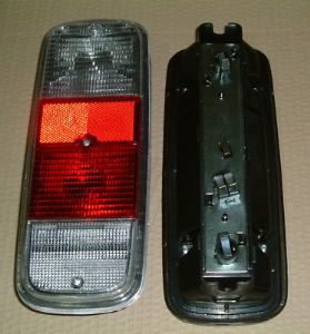 Rear lamp unit VW Type 2 73>79 with Clear, red & clear lenses a pair